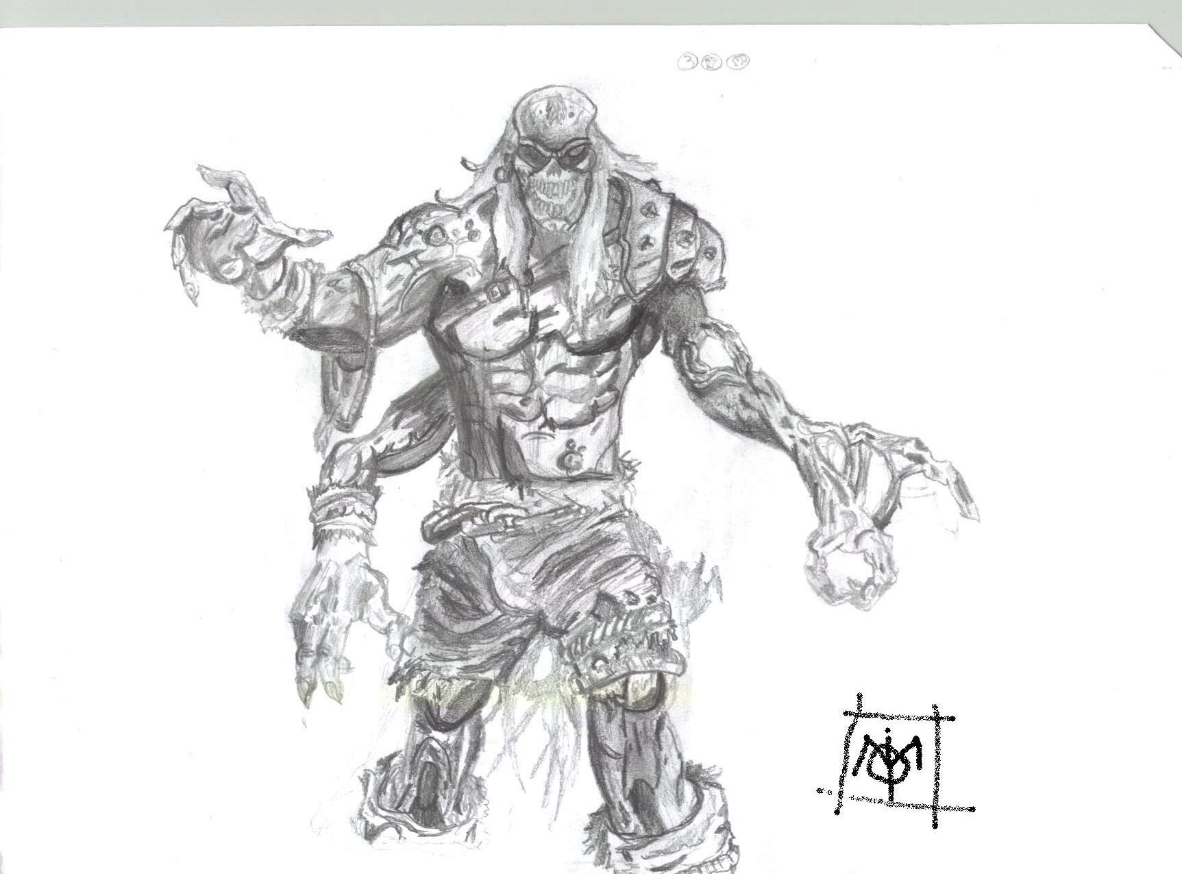 Les nouvelles aventures de capot 39 man en bd xd - Comment dessiner un zombie ...